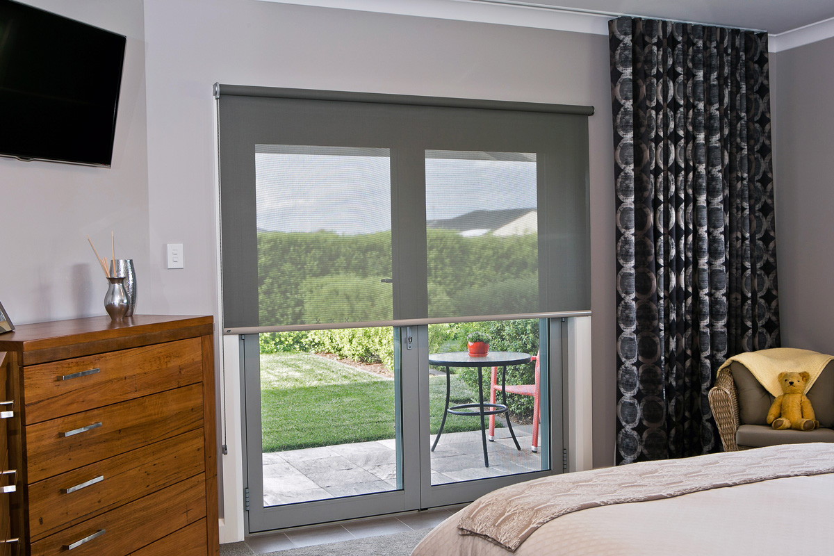 Curtains with Screen Roller Blind.jpg