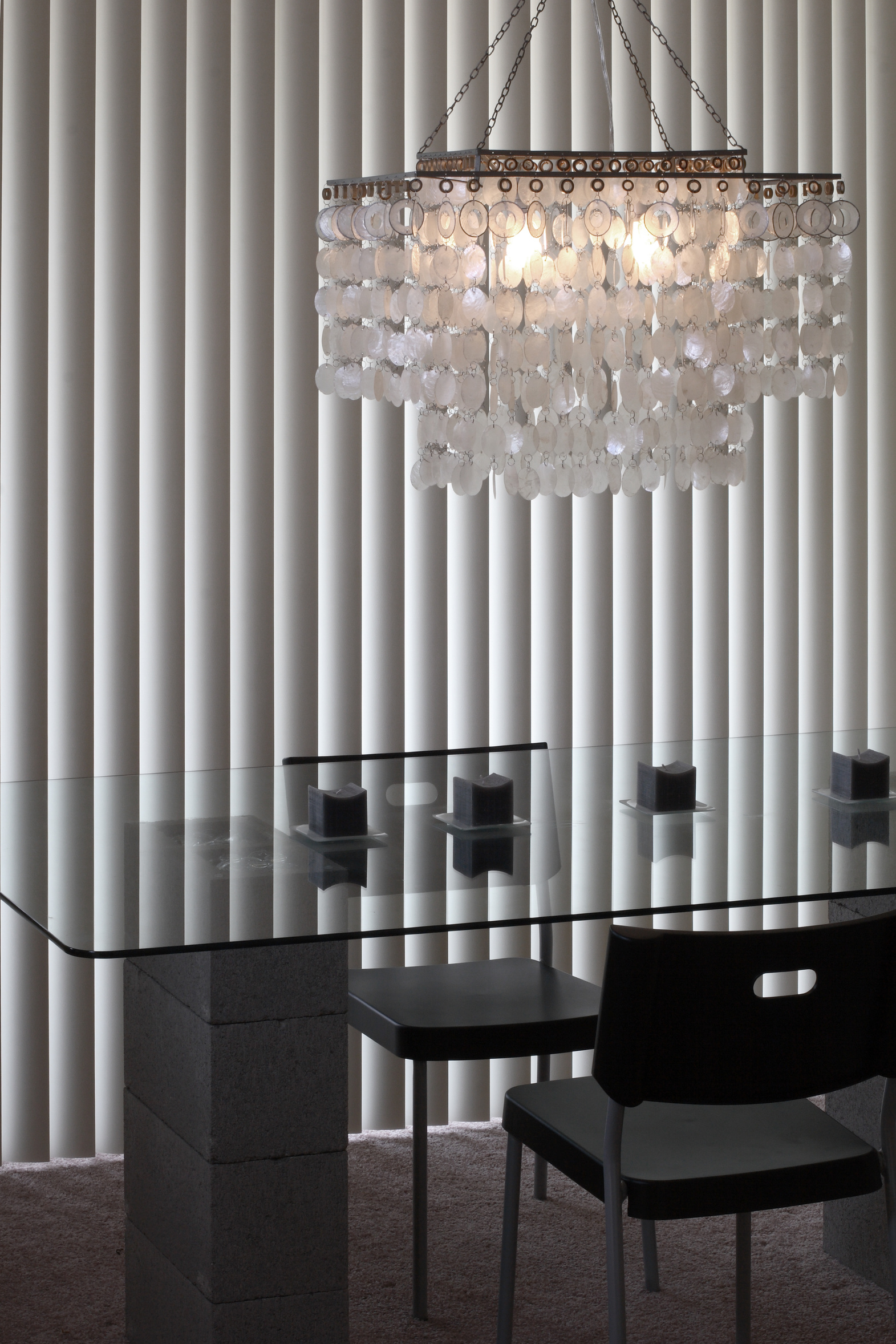 Vertical Blind Residential Dining room.jpg